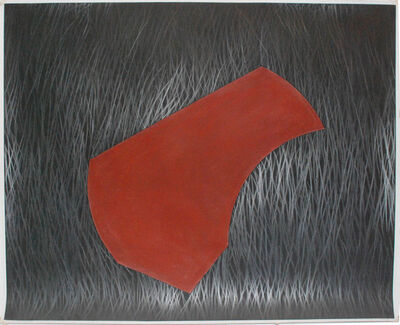 David Tremlett, 'Drawing for pastel and grease #1 ', 2007