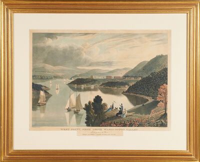 "William James Bennett, '""West Point From Above Washington Valley"" (After George Cooke)', 1834"