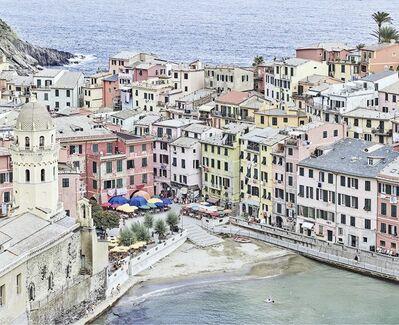 David Burdeny, 'Vernazza Harbour, Cinque Terre, Italy', 2018
