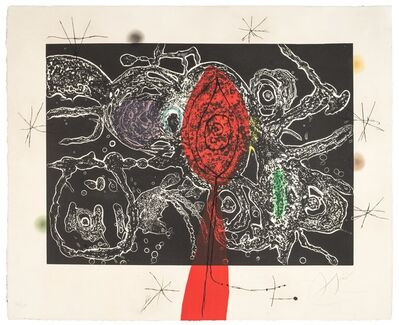 Joan Miró, 'Espriu-Mirò n° 2', 1971