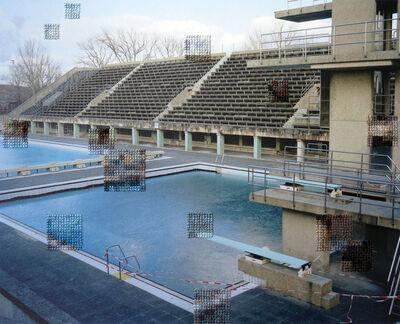Diane Meyer, 'Pool, Olympiastadion', 2014