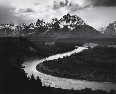Ansel Adams, 'The Grand Tetons and Snake River, Grand Teton National Park, 1942', 1942