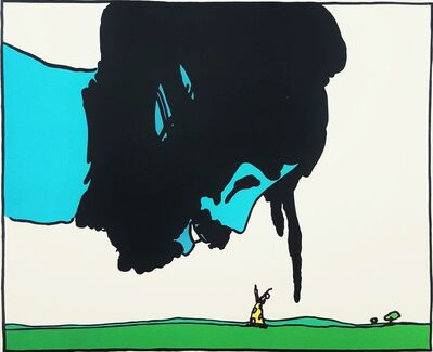 Peter Max, 'The Great Genie', 1976