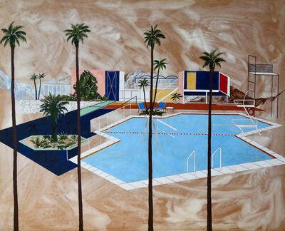 Charlotte Keates, 'Four Palms '