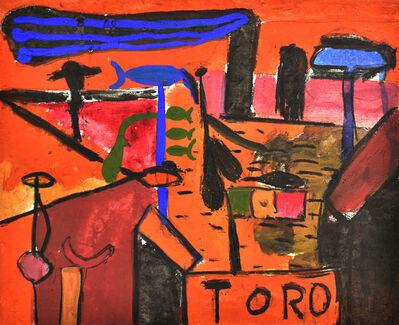 Sergio Hernández (b. 1957), 'Toro', 1985