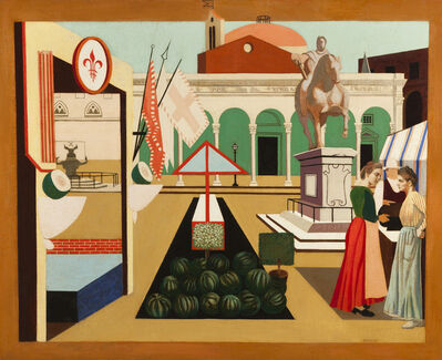 Francis Criss, 'The Watermelon Market (Florence)', 1935