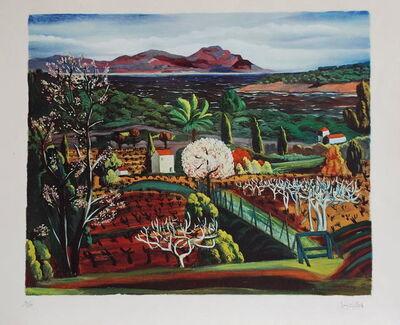 Moise Kisling, 'Paysage', 1952