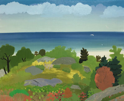 Daniel Heidkamp, 'landscape/seascape', 2017