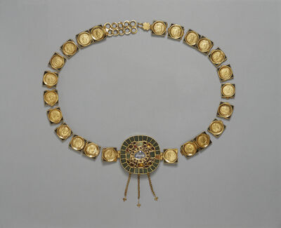 'Belt with Central Medallion', ca. 385 -400