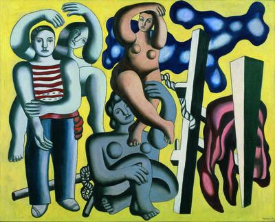Fernand Léger, 'Les perroquets (Les acrobates) (The Parrots, The Acrobats)', 1933