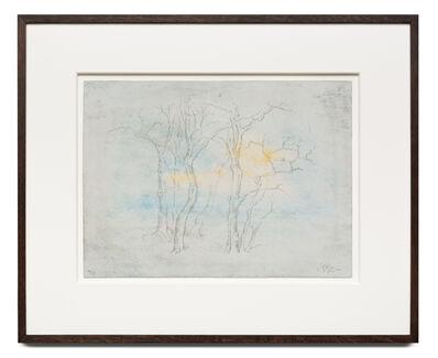 Zeng Fanzhi 曾梵志, 'Wintry Trees 寒林图', 2018