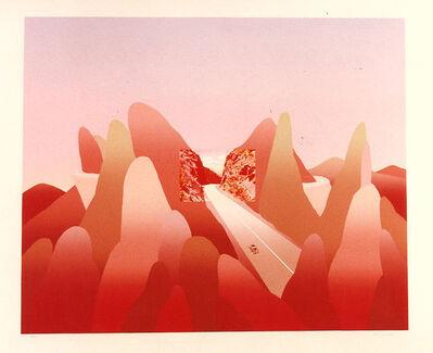 Jean Michel Folon, 'Je vous ecris des montagnes Rocherrses', Unknown
