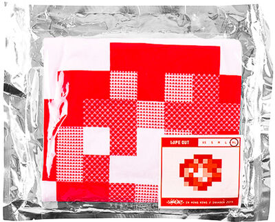 Invader, 'WIPE OUT (Extra Large T-shirt)', 2015