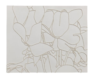 Georgie Hopton, 'White Cyclamen (ii)', 2006
