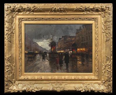 Edouard Léon Cortès, 'Les grands boulevards'