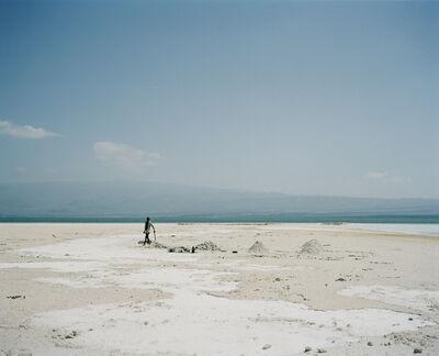 Armin Linke, 'Lake Assal, extraction of salt Djibouti', 2012
