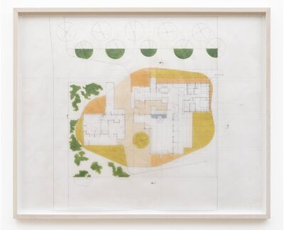 Marshall Brown, 'Plan for an American House', 2019