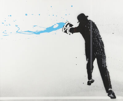 Nick Walker, 'Paint Chucker - Blue', 2008
