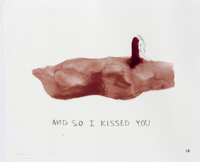 Louise Bourgeois & Tracey Emin, 'And so I Kissed You', 2009-2010