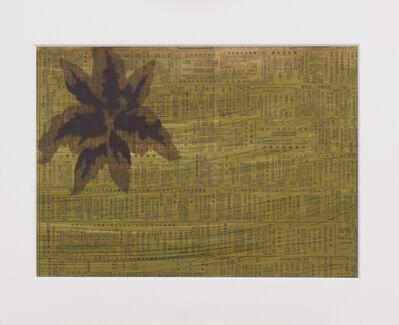 Unknown Artist, 'Test print of a Meisen stencil, floral pattern, Japanese, Showa period', 1960-1969