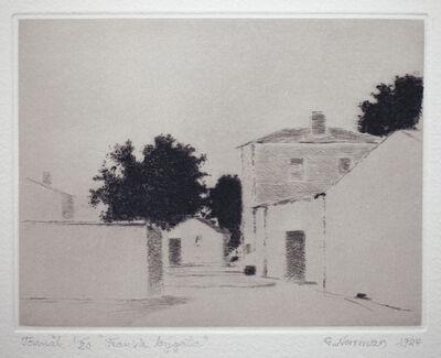 Gunnar Norrman, 'Fransk bygata (French Village Street)'