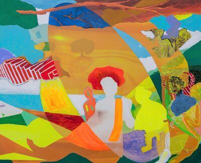 Carlos Franco, 'DAMA EN EL LAGO, ARIADNA', 2009-2011
