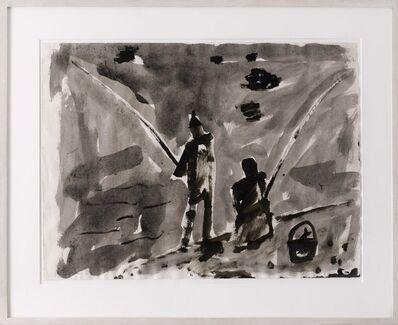 Miquel Barceló, 'Sin Título (Dos pescadores)', 1984