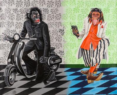 JP Mika, 'Deux temps, deux mondes', 2015