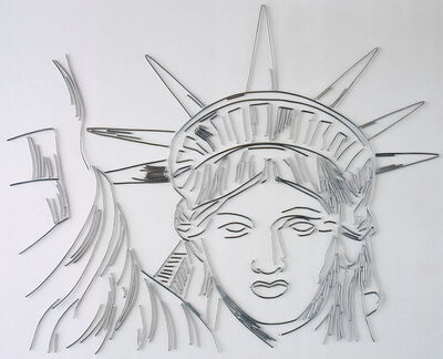 Vik Muniz, 'The Statue of Liberty (Pictures of Nails', 2003