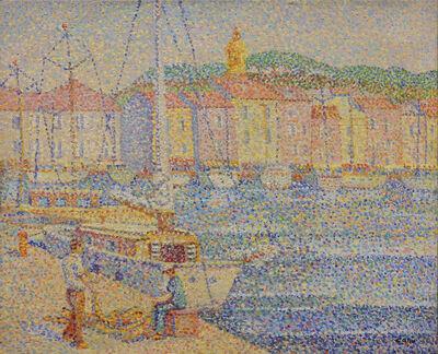 Yvonne Canu, 'Le port de pêche '