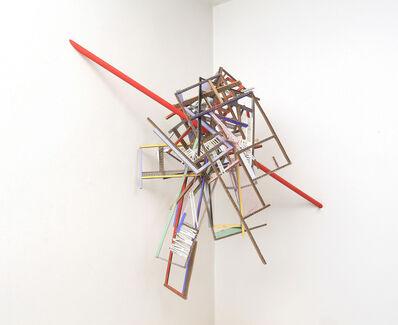 Ana Tiscornia, 'Corner with Red Line', 2014
