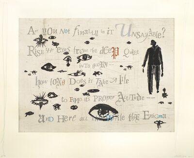 Lesley Dill, 'Eyes', 2016