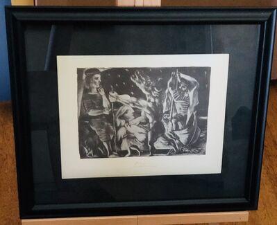 Pablo Picasso, 'Blind Minotaur Led through the Night', 1956