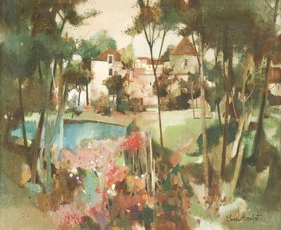 Robert Vernet-Bonfort, 'VIEW OF A GARDEN, SOUTH OF FRANCE'