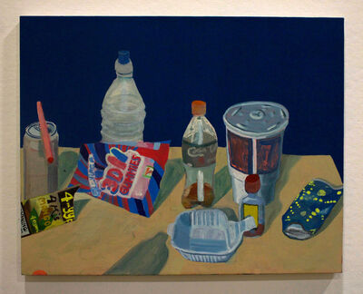 Ezra Johnson, 'Cups, Bottles, Straws, Etc.', 2018