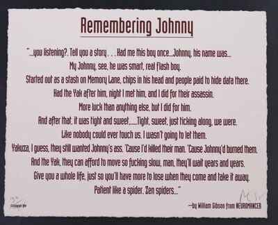 Various Artists (20th century), 'Remembering Johnny', 240
