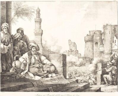 Horace Vernet, 'Massacre des Mameluks Rebelles dans le Château de Caire', 1818