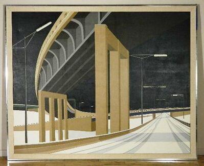 elizabeth yorgen, 'American Road Series: Interchange IV', 1986