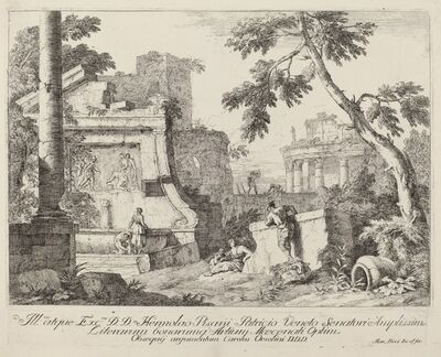 Marco Ricci, 'Landscape with Ruins'