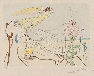 Salvador Dalí, 'La Rose (The Rose)', 1976-77