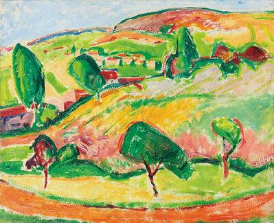 Alfred H. Maurer, 'Le Sentier', 1908