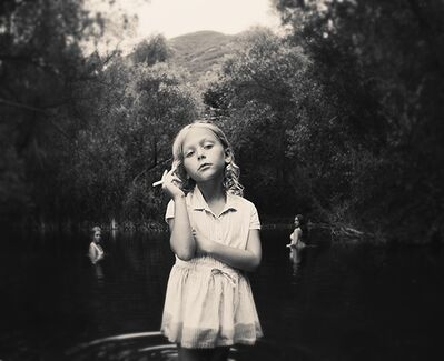Tyler Shields, 'Girl in the Pond', ca. 2016