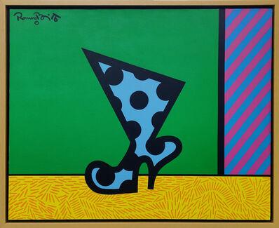 Romero Britto, 'THE BOOT', 1990