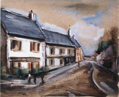 Maurice de Vlaminck, 'Maison Dupuis - Rue de Village'