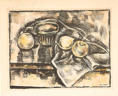 Max Weber, 'Still Life with Apples', 1928