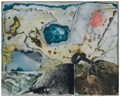 Romare Bearden, 'Untitled (Figure on a Rock)', c. 1970s
