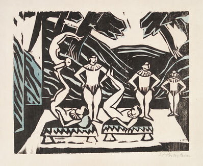 Max Pechstein, 'Akrobaten III', 1912