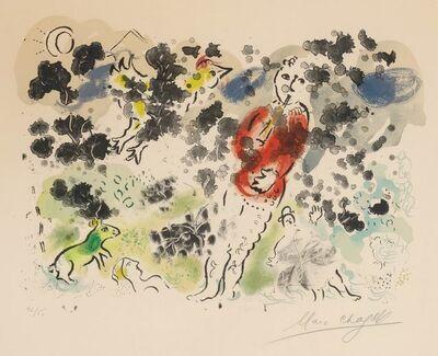 Marc Chagall, 'LE CLOWN À LA FLÛTE (M. 615)', 1970