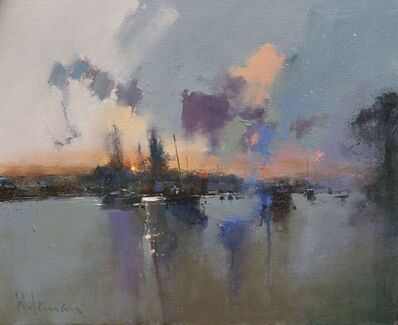 Peter Wileman, 'Christchurch Quay, River Stour', 2019