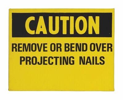 Andy Warhol, 'Caution'
